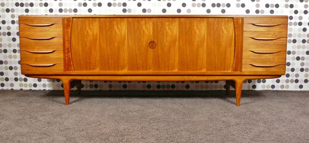 enfilade scandinave en teck blond de andersen j vintage. Black Bedroom Furniture Sets. Home Design Ideas