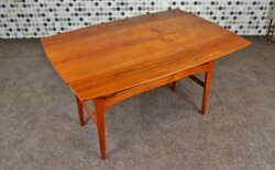 Table Transformable Danoise en Teck Niels Bach Vintage 1965 - VENDU