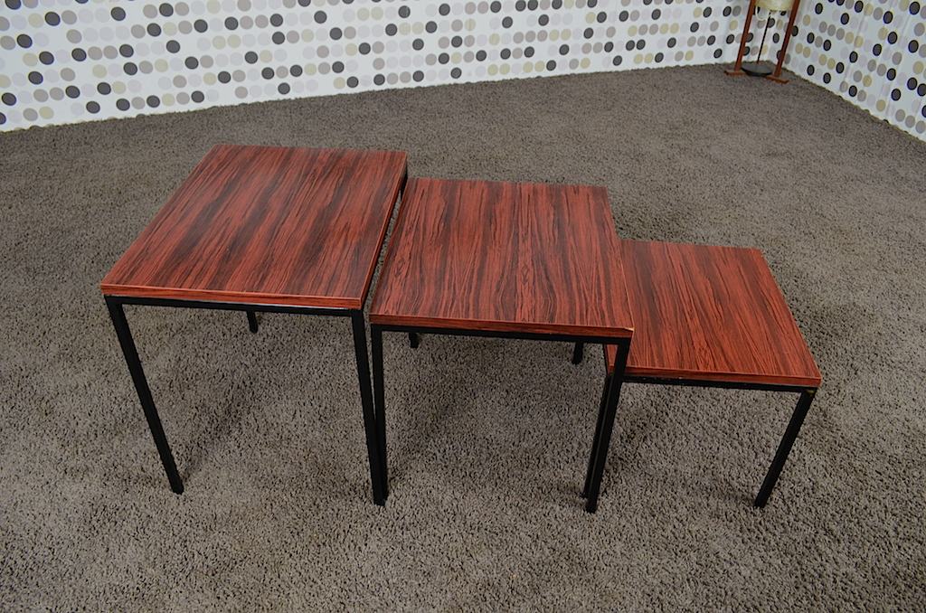 3 Tables Gigognes Dutch Design Vintage Des Ann Es 1950