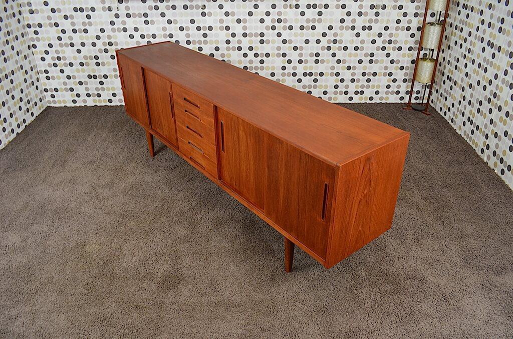 enfilade scandinave en teck vintage 1965 nils jonsson design vintage avenue. Black Bedroom Furniture Sets. Home Design Ideas