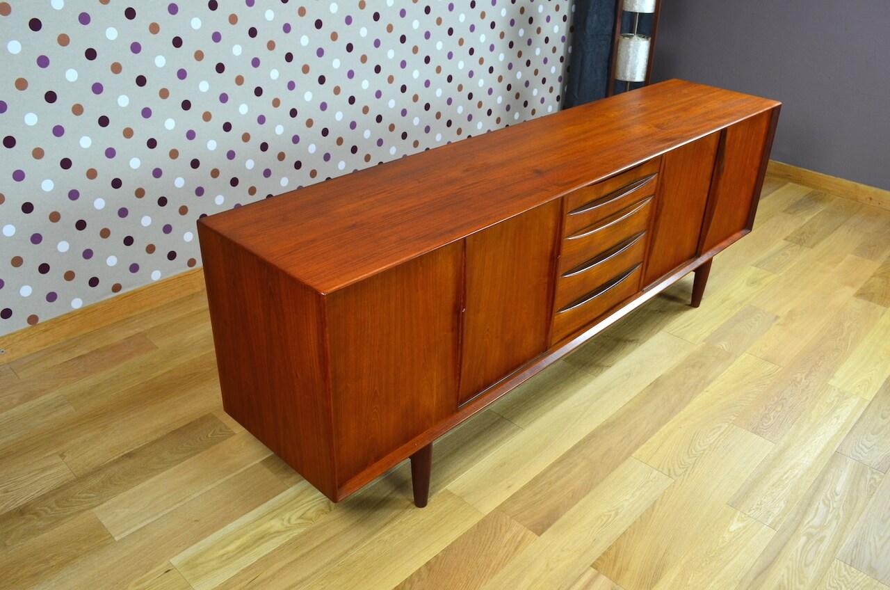 enfilade scandinave en teck arne vodder vintage 1960 design vintage avenue. Black Bedroom Furniture Sets. Home Design Ideas