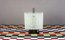 Lampe Design Scandinave en Teck Vintage 1960 - 12/0347c