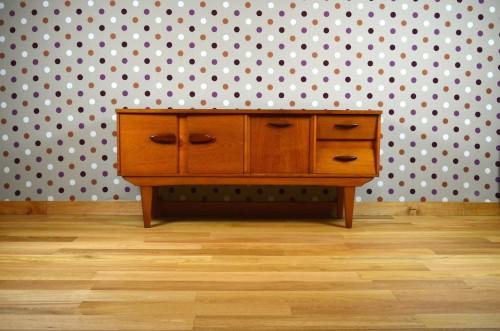 Enfilade Design Scandinave En Teck Vintage 1966