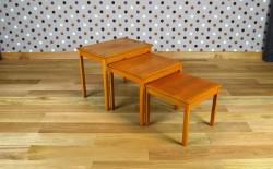 3 Tables Gigognes Vintage 1960 - A1344