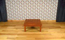 Table Basse de Salon Scandinave en Palissandre de Rio Vintage 1960 - A1368