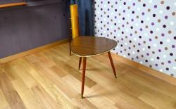 Table Basse Forme Libre en Formica Design Vintage 1960 - A1441