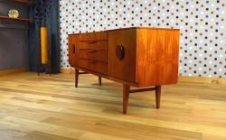 Enfilade Scandinave en Teck Design Vintage Rétro 1966 - A1396