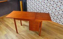 Bureau Design Scandinave en Teck Vintage Année 1960 - A1416