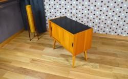 Meuble Bas Design Scandinave Pieds Compas Vintage 1960 - A1333