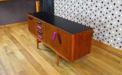Enfilade Design Scandinave en Acajou Vintage 1960 - A1400