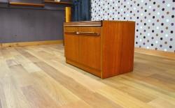 Meuble Bas Design Scandinave en teck Vintage 1960 - A1409