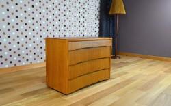Commode Design Vintage Rétro en Chêne Clair Année 1960 - A1408