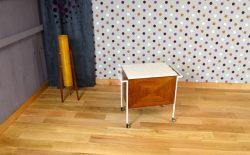 Bar Roulant Design Vintage Rétro Année 1960 - A1493