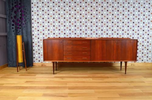 Enfilade Design Scandinave En Teck Vintage Ann E 1969