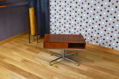 Table Tv Design Scandinave Vintage 1960 Designvintage Avenue Ebay