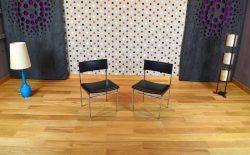 Chaise de Bureau Design Vintage Rétro Année 1960 - A1351bis