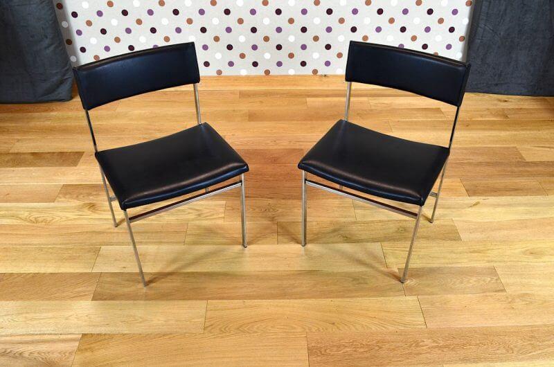 Chaise De Bureau Design Vintage R Tro Ann E 1960