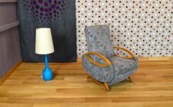 Fauteuil Relax Design Vintage Retro 1960 – 13/0350