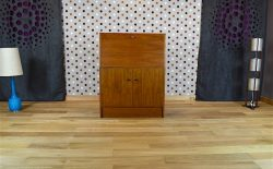 Secrétaire Design Scandinave en Noyer Vintage 1960 - A1642