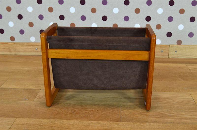 porte revues design scandinave en teck aksel kjersgaard vintage 1960 design vintage avenue. Black Bedroom Furniture Sets. Home Design Ideas