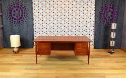 Bureau Design Scandinave en Teck Vintage 1960 - A1381