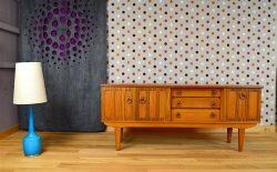 Enfilade Design Scandinave en Teck Vintage 1960 / 1970 - 13/0259