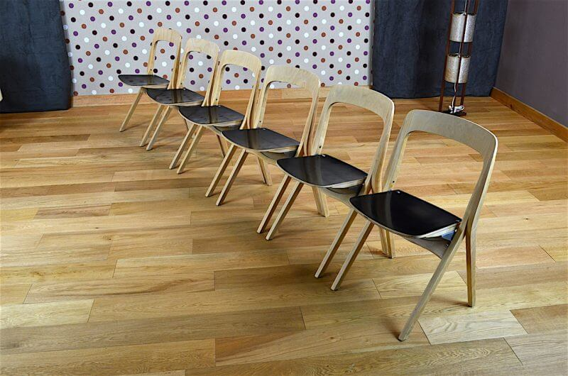 6 chaises pliantes design scandinave carl johan boman vintage 1962 design vintage avenue. Black Bedroom Furniture Sets. Home Design Ideas