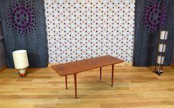 Table Basse Design Scandinave en Teck Vintage 1960 - A1823