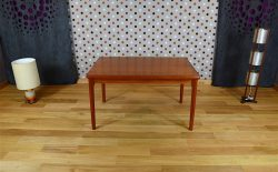 Table Design Scandinave en Teck H. Kjaernulf Vintage 1962