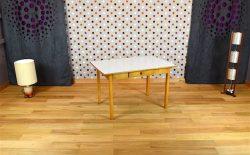 Table Bureau Design Vintage Bois & Formica Année 1960 - A1926