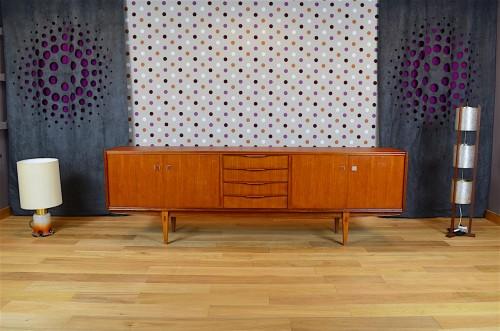Enfilade Design Scandinave En Teck Vintage Ann E 1968