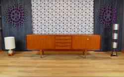 Enfilade Design Scandinave en Teck Vintage Année 1968 - A1665