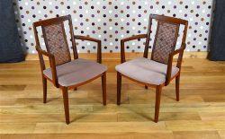 Fauteuil Design Scandinave en Teck Vintage 1960 – A1977B