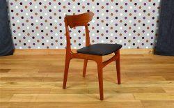 Chaise de Bureau Scandinave en Teck Vintage 1960 – A1603