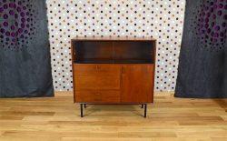 Meuble Haut Design Scandinave en Teck Vintage 1960 - A1677