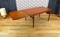 Table Rectangle Scandinave en Teck Johannes Andersen Vintage 1965 - VENDU