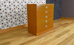 Commode Design Scandinave Style teck Vintage 1970 - A2016
