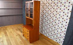 Meuble Vitrine Design Scandinave Domino Mobler Vintage 1960 - A1838
