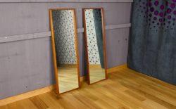 Miroir Design Scandinave Vintage 1960 - A2120