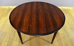 Table Danoise en Palissandre de Rio Skovmand & Andersen Vintage 1960 - A2019