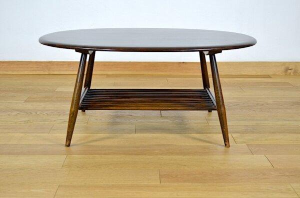 Table Basse Vintage Ercol 1950 Lucian Ercolani design scandinave