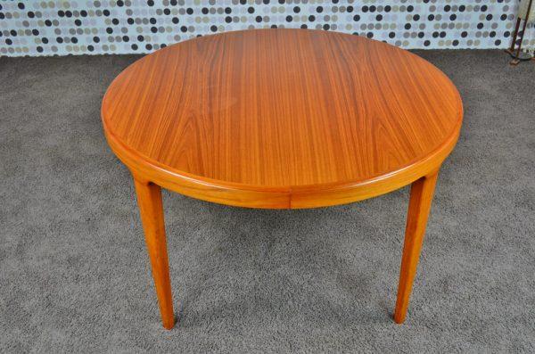 Table Danoise en Teck Vintage 1960 Skovmand & Andersen