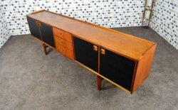 Enfilade Design Scandinave en Teck Fristho NV Franeker Vintage 1960