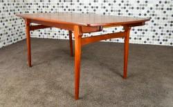 Table Design Scandinave en Teck Fristho Vintage 1960