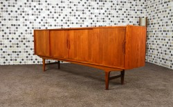 Enfilade Design Scandinave Westergaard en Teck Vintage 1966