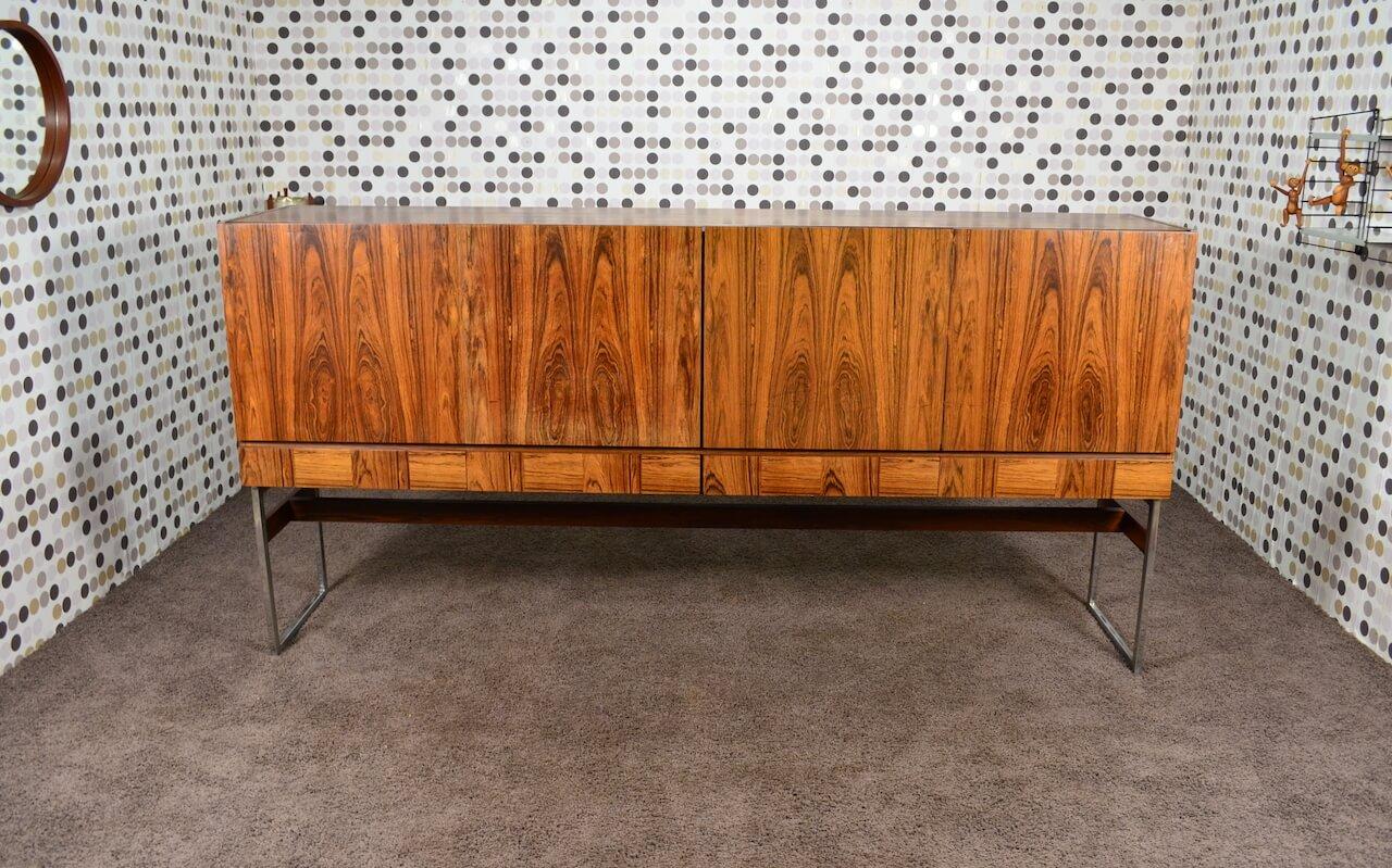 enfilade design scandinave fristho en palissandre de rio. Black Bedroom Furniture Sets. Home Design Ideas