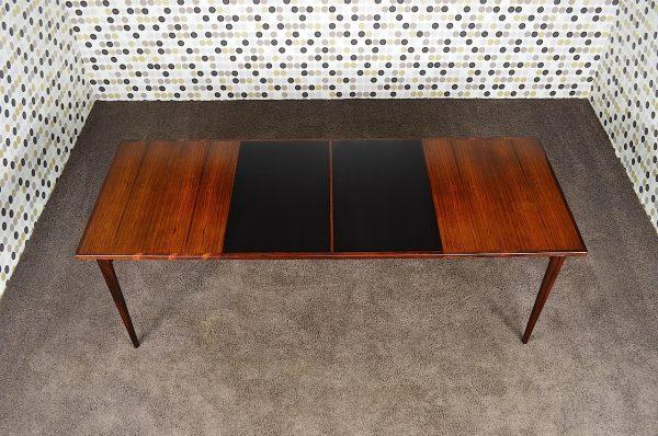 Table Danoise en Palissandre de Rio Rosengren Hansen Vintage 1962