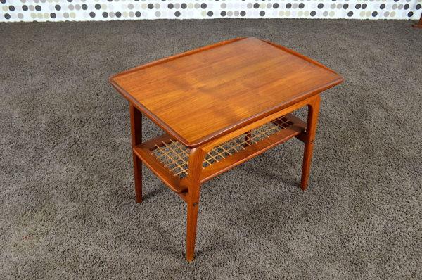 Table Basse Scandinave en Teck A H Olsen Vintage 1960