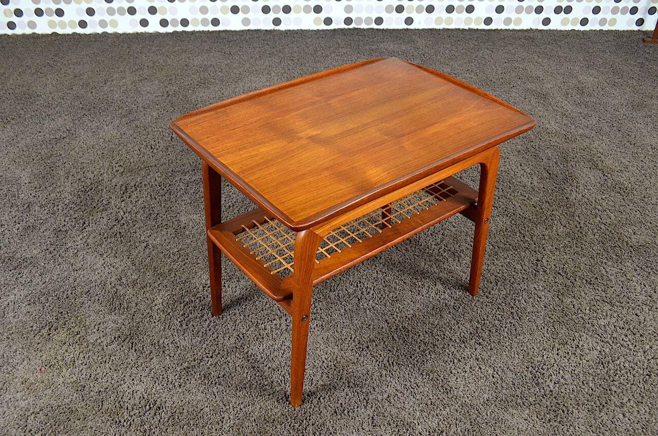 table basse scandinave en teck a h olsen vintage 1960 vendu. Black Bedroom Furniture Sets. Home Design Ideas