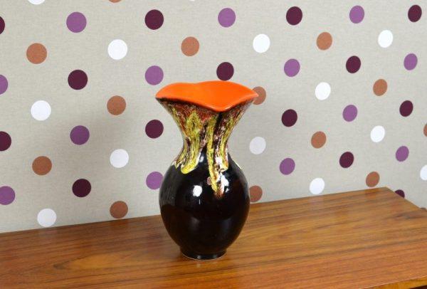 Grand Vase en Céramique Vintage Vallauris